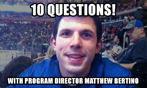 10 Questions With New Senior Camp Program Director, Matt Bertino